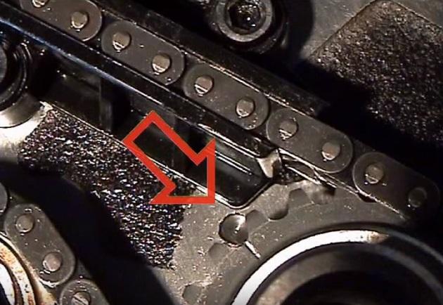 7 нижняя метка цепи коленвала змз 406.jpg