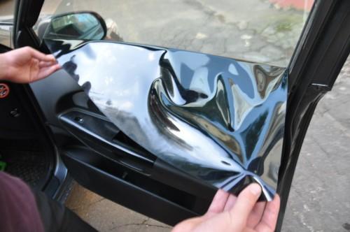 съёмная тонировка стёкол автомобиля